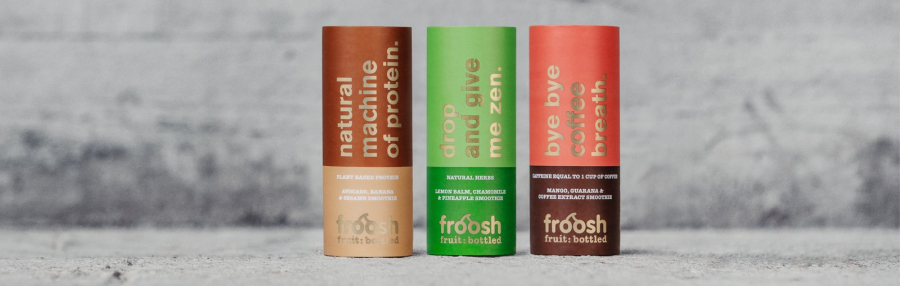 FROOSH+ SMOOTHIE 250ml Energizing